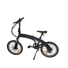 Low Noise Foldable Electric Bicycle , Fat Tire Electric Bike With LCD S900 Display