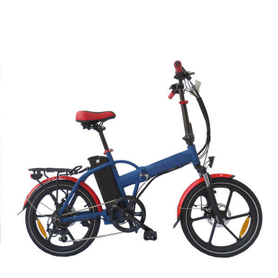Save Energy Fold Up Electric Bike Charging Time 4 - 6 Hours Max Loading 120KG